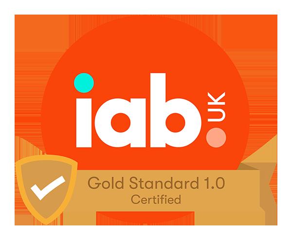 IAB UK Gold Standard Certification
